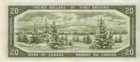 "Canada P.070a 20 Dollars 1954 ""Devils Face"" (1)"