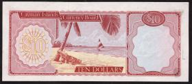 Cayman-Inseln P.03 10 Dollars 1971 (1972) (1)