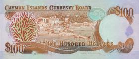 Cayman-Inseln P.15 100 Dollars 1991 (1)