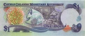 Cayman-Inseln P.26c 1 Dollar 2001 Serie C/4 (1)