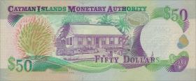 Cayman-Inseln P.32a 50 Dollars 2003 C/1 (1)