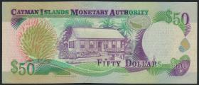 Cayman-Inseln P.32b 50 Dollars 2003 (2007) C/2 (1)