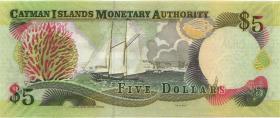 Cayman-Inseln P.34b 5 Dollars 2005  Serie C/2 (1)