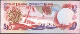Cayman-Inseln P.13 10 Dollars 1991 B-1 000277 (1)