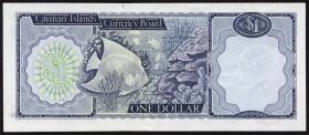 Cayman-Inseln P.01a 1 Dollar (1971) A/1 000061 (1)