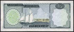 Cayman-Inseln P.02a 5 Dollars (1971) A/1 000061 (1)