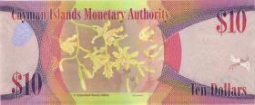 Cayman-Inseln P.40b 10 Dollars 2014 (2018) (1)