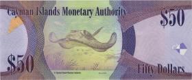 Cayman-Inseln P.43b 50 Dollars 2014 (2018) (1)