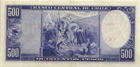 Chile P.115 500 Pesos = 50 Condores o.J. (2)