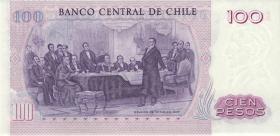 Chile P.152b 100 Pesos 1983 (1)