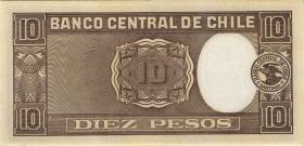Chile P.103 10 Pesos = 1 Condor 1945 (2)