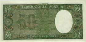 Chile P.112 50 Pesos = 5 Condores (1947-1958) (1)