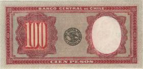 Chile P.113 100 Pesos = 10 Condores (1947-1958) (1)