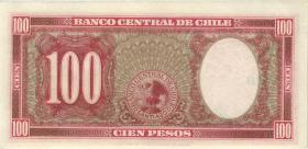 Chile P.114 100 Pesos = 10 Condores (1947-1958) (1)