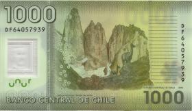 Chile P.161g 1000 Pesos 2016 (1)