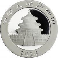 China Silber-Unze 2014 Panda