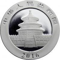 China 10 Yuan 2016 Silber-Panda