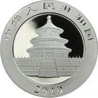 China 10 Yuan 2019 Silber-Panda
