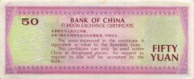 China P.FX6 50 Yuan 1979 für ausländische Besucher (2+)