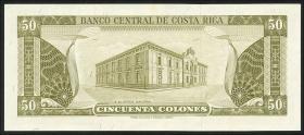 Costa Rica P.232a 50 Colones 1970 (1)
