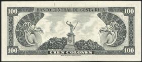 Costa Rica P.234 100 Colones 1968 (1)