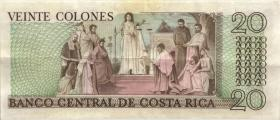 Costa Rica P.252 20 Colones 1983 Tyvek (Plastiknote) (3)
