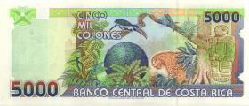 Costa Rica P.268 5000 Colones 1999 (1)