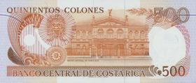 Costa Rica P.269 500 Colones 1994 (1)