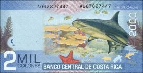 Costa Rica P.275b 2000 Colones 2013 (1)