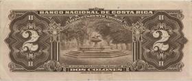 Costa Rica P.235 2 Colones 1967 (3)