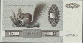 Dänemark / Denmark P.53d 1000 Kronen 1980 (1/1-)