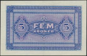 Dänemark / Denmark P.M03 5 Kroner (1945) All. Oberkommando (2)