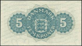 Dänemark / Denmark P.35e 5 Kroner 1948 (1)