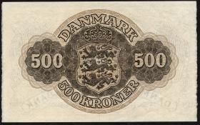 Dänemark / Denmark P.41i 500 Kronen 1959 (1)