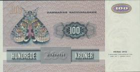 Dänemark / Denmark P.51i 100 Kronen 1982 (1)