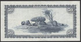 Dänemark / Denmark P.45c 50 Kronen 1957 (3+)