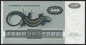 Dänemark / Denmark P.52d 500 Kronen 1988 (1/1-)