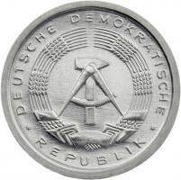 DDR 1 Pfennig (Alu) Exportqualität (stgl)