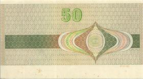 DDR Reisescheck der Staatsbank 50 Mark (1-)