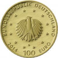 Deutschland 100 Euro 2014 Kloster Lorsch (Gold)