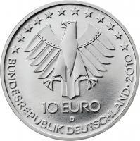 Deutschland 10 Euro 2010 Eisenbahn stg