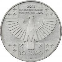 Deutschland 10 Euro 2013 150 Jahre Rotes Kreuz prfr