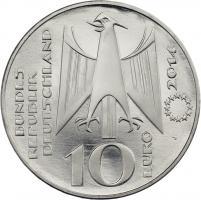 Deutschland 10 Euro 2014 300 J. Fahrenheit-Skala