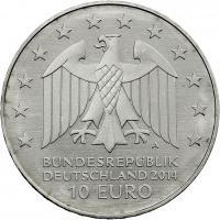 Deutschland 10 Euro 2014 Joh. Gottfried Schadow prfr