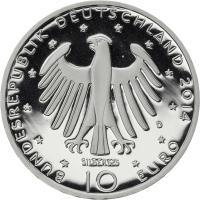 Deutschland 10 Euro 2014 Richard Strauss PP