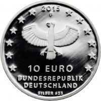 Deutschland 10 Euro 2015 1000 Jahre Leipzig PP