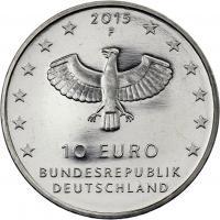 Deutschland 10 Euro 2015 1000 Jahre Leipzig prfr