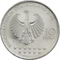 Deutschland 10 Euro 2015 Otto von Bismarck prfr