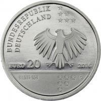 Deutschland 20 Euro 2016 Litfass prfr