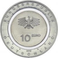 Deutschland 10 Euro 2019 In der Luft prfr